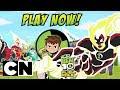Ben 10 Alien Race | Play as Heatblast! | Cartoon Network