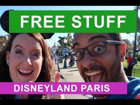 FREE STUFF at DISNEYLAND PARIS 2017   Perks in the Park