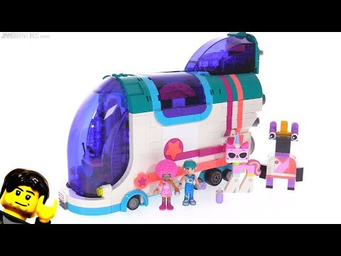 LEGO Movie 2 Pop-Up Party Bus reviewed 🚌✨ 70828