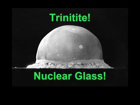 ☢ Trinitite: Nuclear Glass! ☢