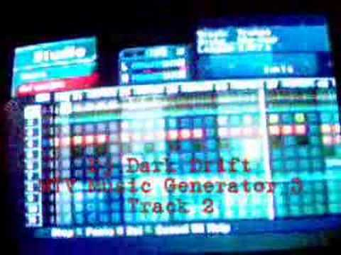 Dj Dark Drift on MTV Music Generator 3 -