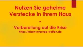 Nutzen Sie geheime Verstecke in Ihrem Haus - krisenvorsorge-treffen.de