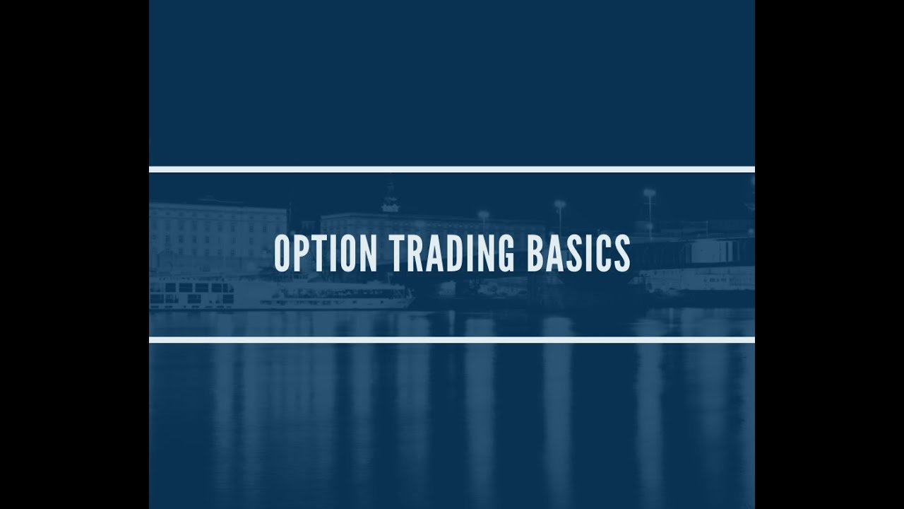 trading options tutorial video