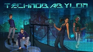 Technobabylon PC Gameplay - Intro [60FPS]
