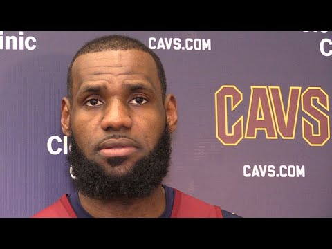 LeBron James on playing without another big man: Cavs vs. Pistons