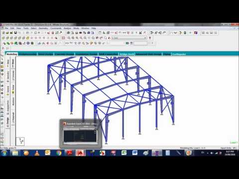 Session-07( Design of 3D Steel Structure )