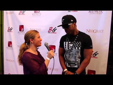 Jay-Z's Drummer Tony Royster Jr Interview at BG Sports Aesthetic Everything ESPY Gifting Suite