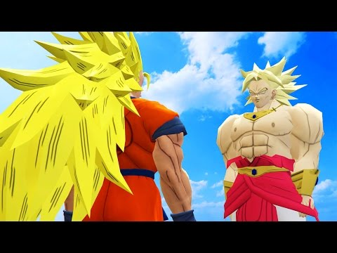 GOKU VS BROLY - DRAGON BALL BATTLE