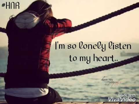 Im so lonely broken angel cute whatsapp status lyrics