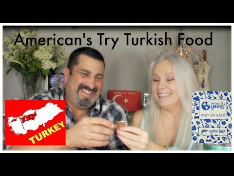 American's Try Turkish Food and OMG!!!