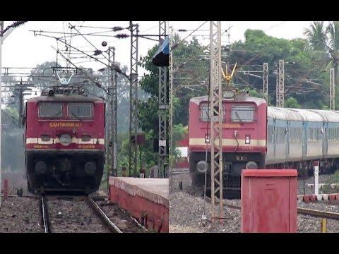 HYBRID Vs PURE LHB: Puri Shatabdi meets Yeswantpur Duronto Express...!