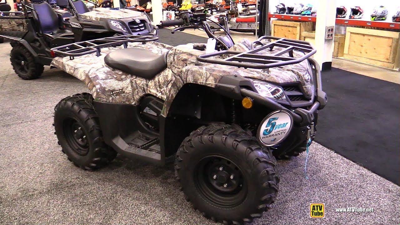 2018 Cfmoto C-Force 500 Camo Recreational ATV - Walkaround - 2017 Toronto  Snowmobile ATV Show