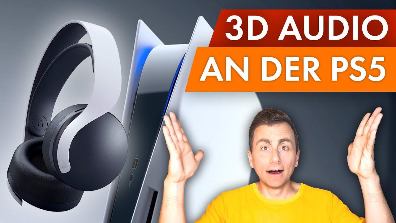 Download 3D Audio an der PS5 mit Pulse Headset - Wie gut ist das wirklich?