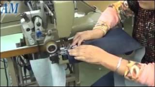 proses pembuatan celana jeans