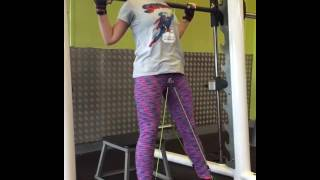 Wearbands workout on the Smith Machine - leg day with resistance bands