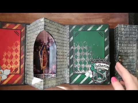 видео: Альбом по миру Гарри Поттера
