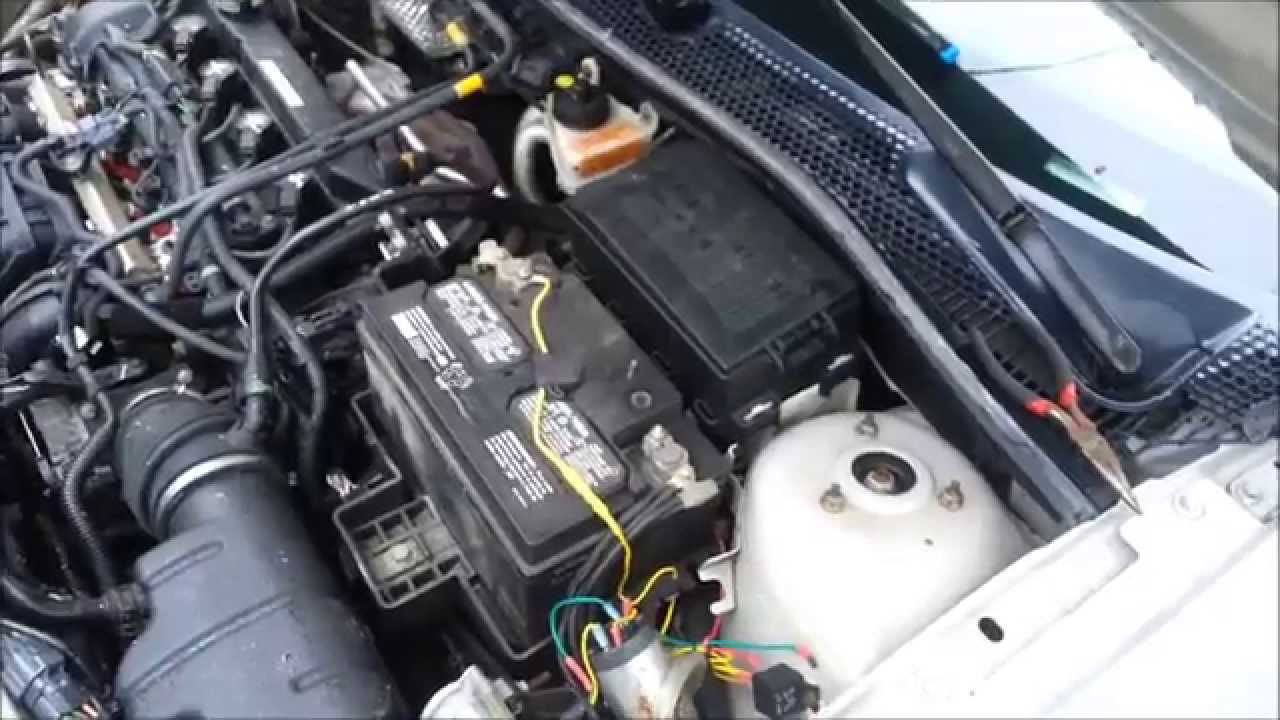 00 08 ford focus fuel filter replacement youtube [ 1280 x 720 Pixel ]