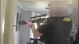 """US-Polizeivideo: """"Da bewegen sich Schatten im Bad!"""""""