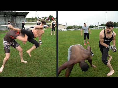 Combat mon frere vs Ismael et Maga assassin  vs David le boxer (YFC 2)