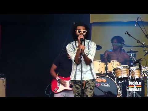 Dre Island - Live Forever / Uptown, Downtown @ Reggae Sundance 2014 (NL)