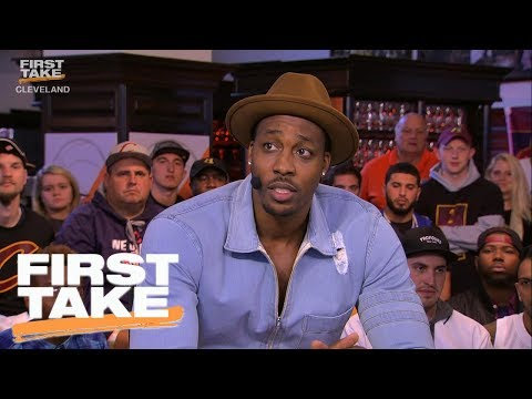 Dwight Howard Picks Kevin Durant Over LeBron James As Best NBA Player | First Take | June 7, 2017