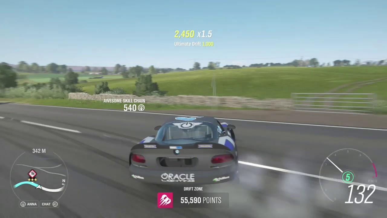 Forza Horizon 4: Ocean view drift zone WORLD RECORD
