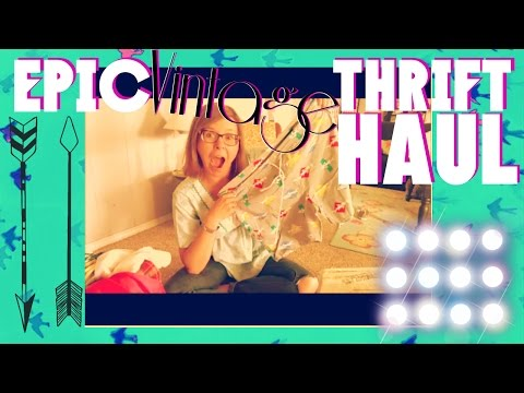 *EPIC* Vintage Thrift Haul | Vintage Clothing Motherload!