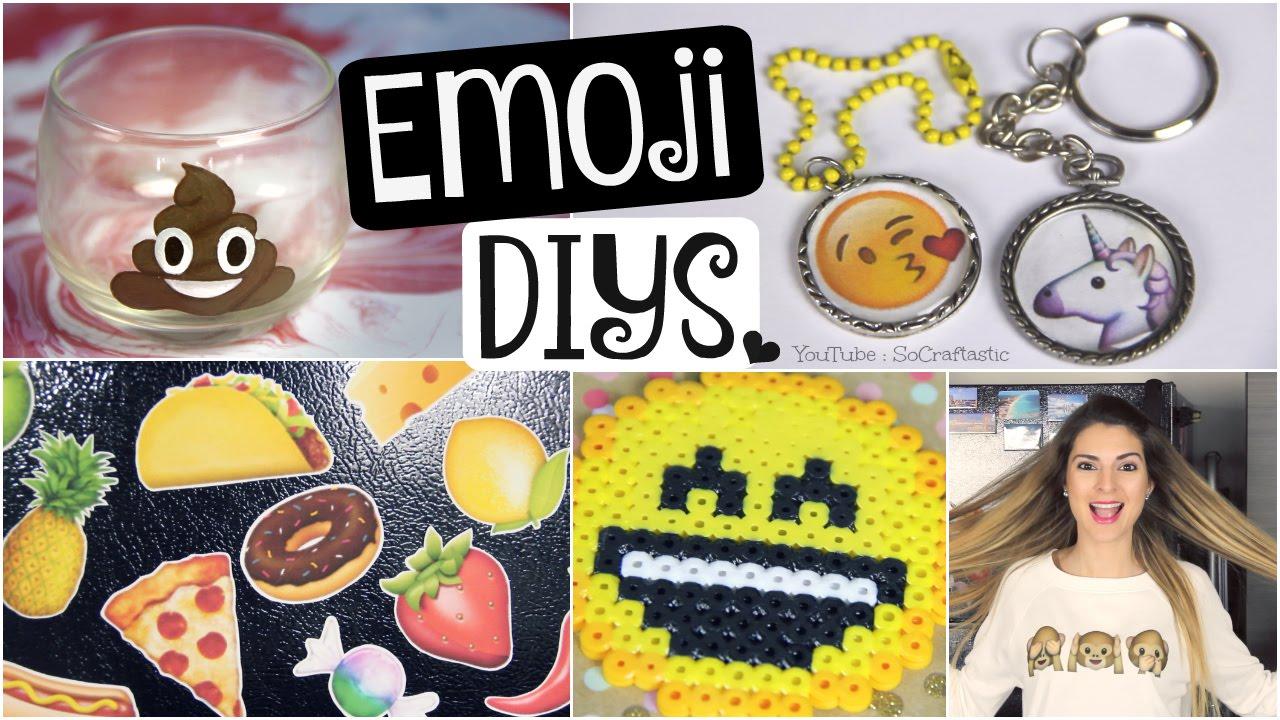 Diy Emoji Clothing Pendants Coasters Magnets Amp Candle