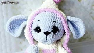 Амигуруми: схема Мышонка. Игрушки вязаные крючком - Free crochet patterns.