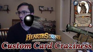 Custom Card Craziness #3 Self Harm Cards