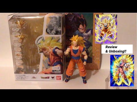 New Latest SHFiguarts Dragonball Z & Super Son Goku SS3 Unboxing Review & Reveals Gokou SuperSaiyan3