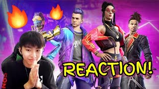 """Download Lagu Reacting to """"Im on Fire"""" - TRAP (Garena Free Fire Music Video/Song) mp3"""