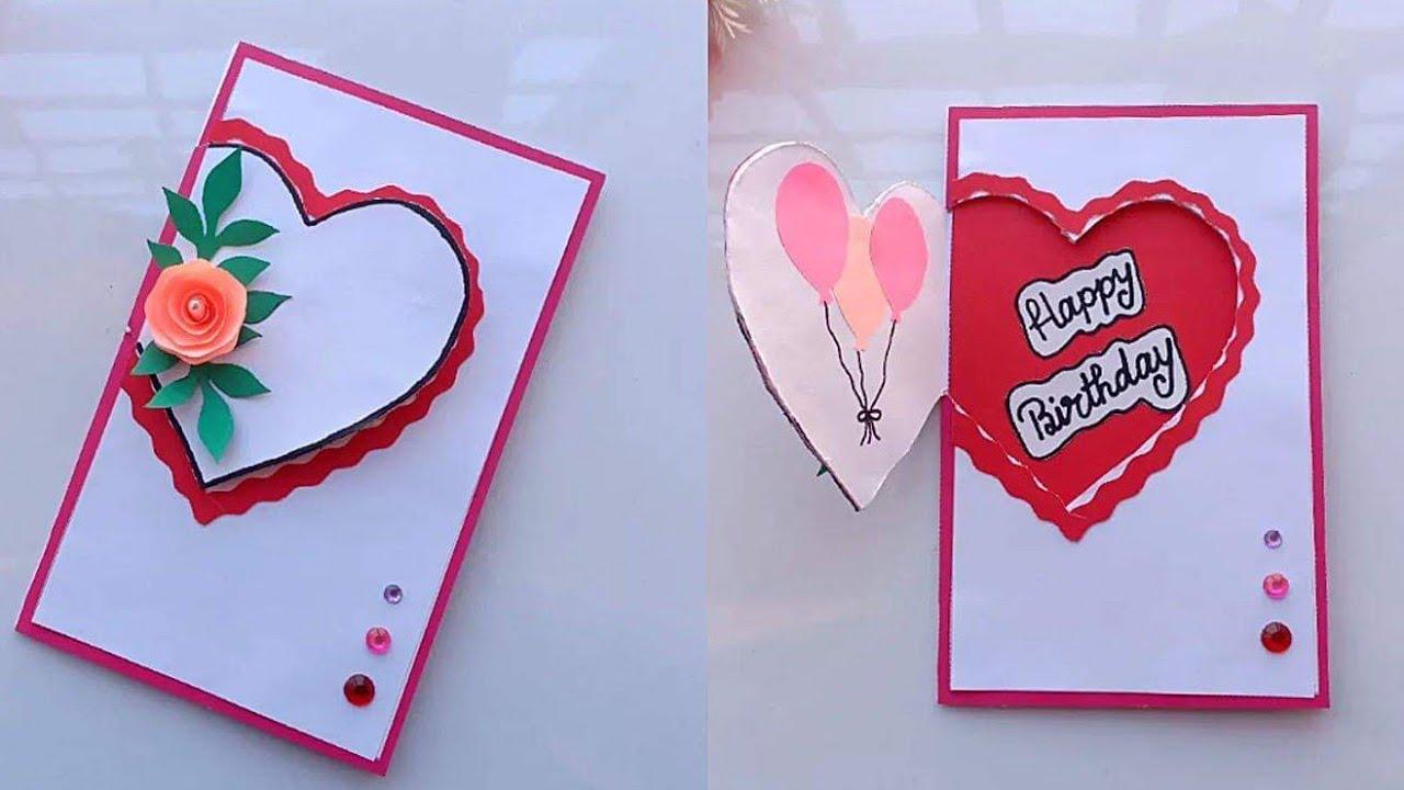 Beautiful Handmade Birthday Card Idea Diy Greeting Cards For Birthday Diy Greeting Cards For Birthday Card Design Handmade Greeting Cards Handmade Birthday