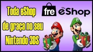 [3DS] freeShop 1.0 - Todo o conteúdo da eShop de GRAÇA no Nintendo 3DS