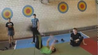 Урок физкультуры 11 класса  / Physical culture