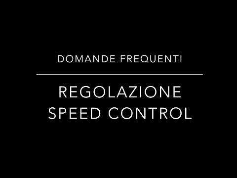 Regolazione Speed control zanzariere