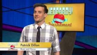Teachers Tournament - Patrick Dillon Bio   Jeopardy!