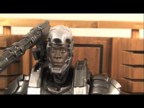 Iron Man 2 Marvel Select War Machine Movie Action Figure Review