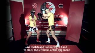MuayThaiAkademi - Knee+Spinning Elbow Combination