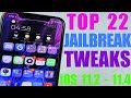 Top 22 Jailbreak Tweaks iOS 11.2 - 11.4