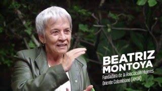 1325: Mujeres resueltas a construir paz - Beatriz Montoya, AMOR