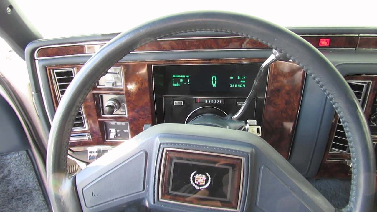 Cold Starts 2012 1991 Cadillac Brougham 5 7l Start Up
