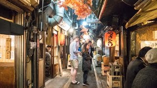 Piss Alley (Memory Lane), best place for yakitori, Tokyo, Japan