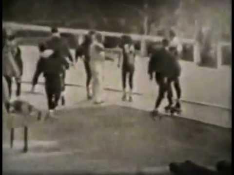 Roller Derby ~ NewJersey Vs Philadelphia (1949)