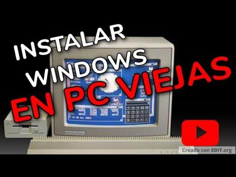 Instalar windows en pc vieja que no acepta usb cd youtube - Fotos de ordenadores ...