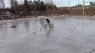 Deja Vu - Bicycle drifting on ice (Read desc/lue kuvaus!)