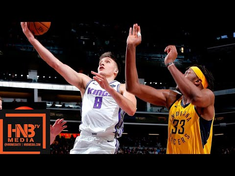 Indiana Pacers vs Sacramento Kings Full Game Highlights | 12.01.2018, NBA Season
