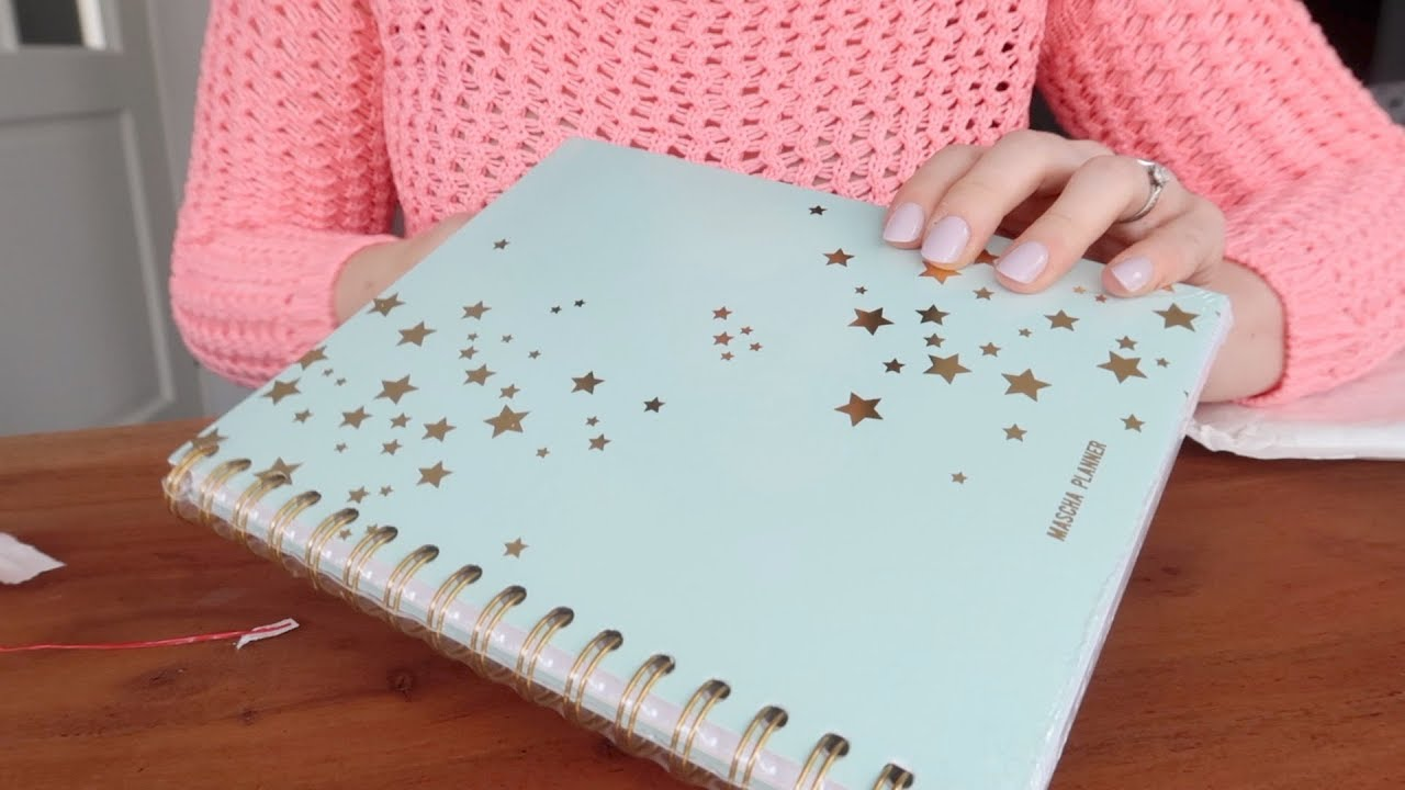 Omg limited edition minty blauwe mascha planner for For planner