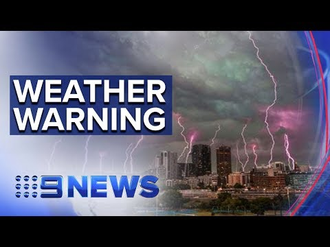 Weather Chaos Continues As Forecasters Warn Of More Storms For NSW | Nine News Australia