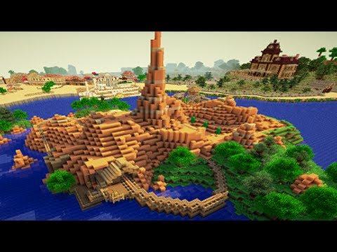Realistic Big Thunder Mountain on Minecraft - YouTube